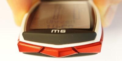 Unterseite Fahrradcomputer VDO M6