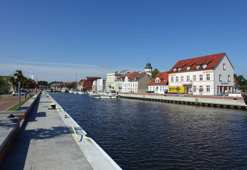 Fluss Uecker