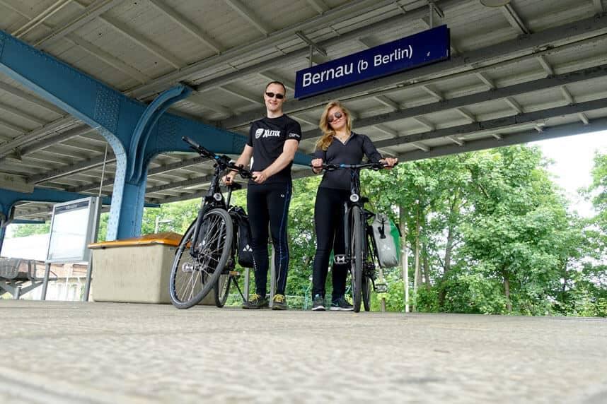 Ich und Valeria in Bernau